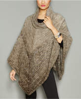 The Fur Vault Knitted Mink Fur Poncho