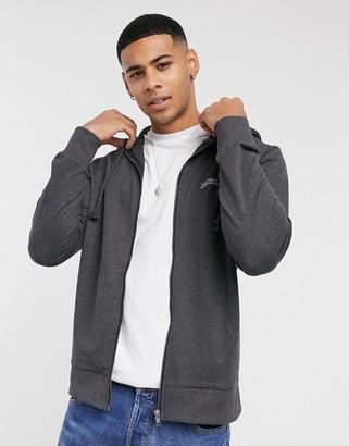 Jack and Jones Originals zip through hoodie