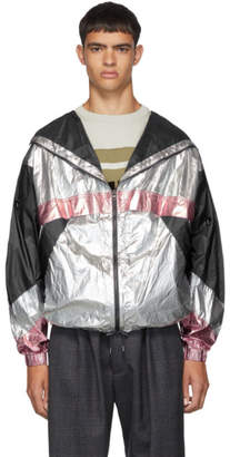Isabel Marant Silver and Pink Kizzya Jacket
