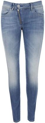 G-Star Raw Women's Lynn Zip Midrise Skinny Bionic Slander Super Stretch Jean