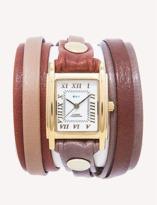 La Mer Abbot Kinney Mix Up Layer Wrap Watch.