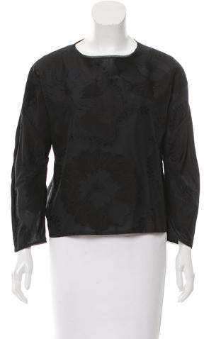 ADAM by Adam Lippes Jacquard Pullover Top w/ Tags