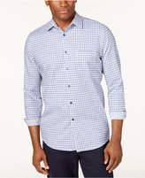 Tasso Elba Men's Long-Sleeve Checked Shirt, Only at Macy's