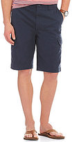 Roundtree & Yorke Casuals Big & Tall Washed Twill Cargo Shorts