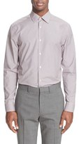 Paul Smith Trim Fit Micro Gingham Dress Shirt