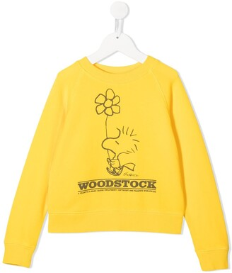 The Marc Jacobs Kids Woodstock print sweatshirt
