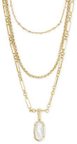 Icons Kendra ScottKendra Scott Elisa Triple Strand Gold Necklace
