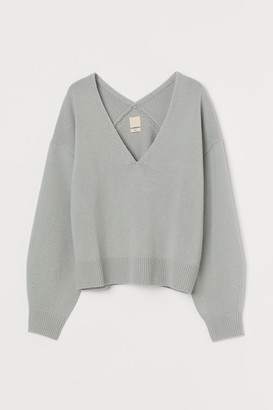 H&M Knitted wool jumper