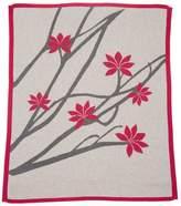 Lucky Jade Lotus Flower Blanket