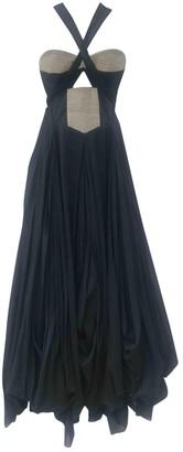 Willow Black Cotton Dress for Women