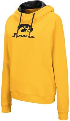Unbranded Women's University of Iowa Hawkeyes Turnover Pullover Hoodie