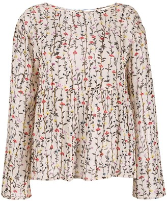 Semi-Couture Semicouture floral print blouse