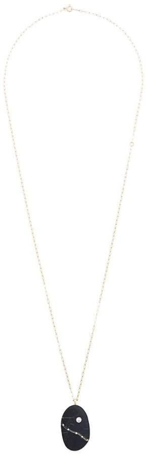 Cvc Stones Ischia diamond pebble necklace