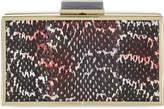 Roland Mouret Frame snakeskin clutch