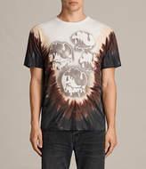 AllSaints Good Vibes Tie Dye T-Shirt