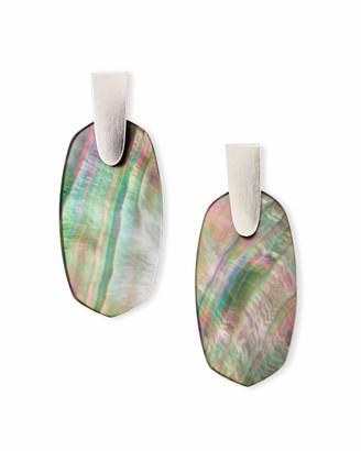 Kendra Scott Aragon Drop Earrings in Silver