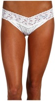 Hanky Panky Mrs. Original Rise Bridal Thong Women's Underwear