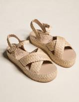 Matisse Coconuts BEACH by Sunshine Raffia Womens Sandals