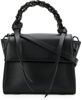 Elena Ghisellini chain embellished handle tote - women - Calf Leather - One Size