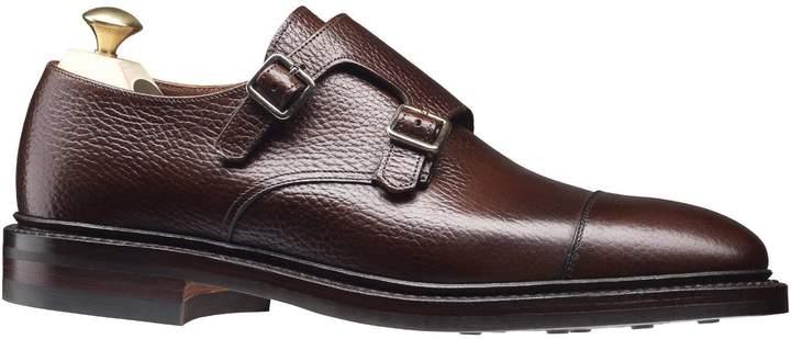 13f7391b756 Crockett & Jones Crockett and Jones Harrogate Double Monkstrap Shoe in Dark  Brown