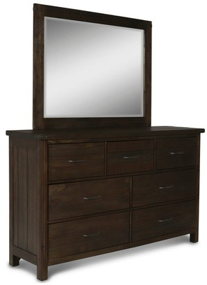 New Classic Home Galleon Brown 7-drawer Dresser