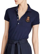 Polo Ralph Lauren Skinny Stretch Mesh Patch Polo