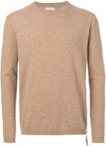 Laneus zip detail jumper - men - Virgin Wool - 46