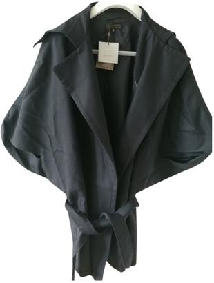 Adolfo Dominguez Blue Wool Coats