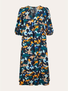 Stine Goya Mavelin Floral Dress Azalea Night - XS