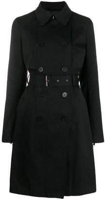 Karl Lagerfeld Paris logo trench coat
