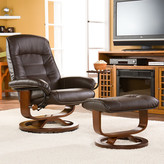 Wildon Home Shaw Ergonomic Recliner & Ottoman Set