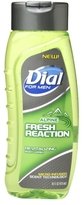Dial for Men Body Wash Fresh Reaction Alpine