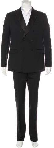 Gucci Double-Breasted Wool Tuxedo
