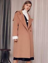 Wardrobe Sailor Collar Coat_beige