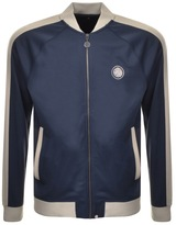 Pretty Green Tention Full Zip Track Top Navy