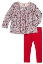Tea Collection Infant Girl's Ikebana Top & Leggings Set