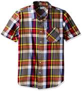 Lrg Men's the Message Short Sleeve Woven Shirt