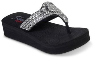 Skechers Cali Vinyasa Wedge Flip Flop