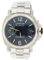 Panerai PAM120 Luminor Marina Blue Dial Automatic Stainless Steel Watch