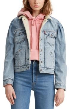 Levi's Fleece-Lined Denim Trucker Jacket