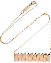 Suzanne Kalan 18-karat Rose Gold Necklace - one size