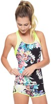 Juicy Couture Rainforest Floral Compression Tank