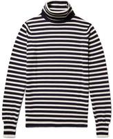 Connolly - Riviera Striped Cashmere Rollneck Sweater