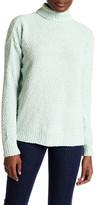 Joseph A Turtleneck Popcorn Knit Sweater