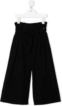 MonnaLisa wide leg palazzo trousers