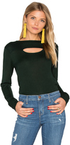 Hoss Intropia Long Sleeve Front Cut Out Sweater
