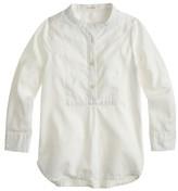 J.Crew Girls' bib tunic in tissue oxford cloth