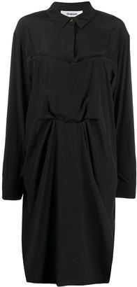 Chalayan Tuck Shirt Dress