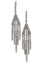 Nadri Women's Kate Pave Chandelier Earrings