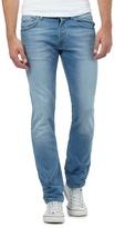 Voi Light Blue Wash Skinny Fit Jeans